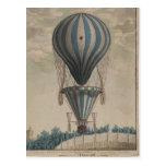 Balones de aire Arte-Calientes del Postal-Vintage