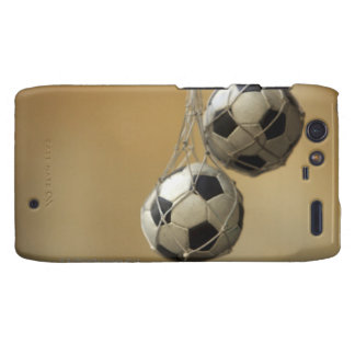 Balones de fútbol colgantes droid RAZR fundas