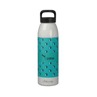 Balones de fútbol conocidos personalizados de la t botella de agua reutilizable