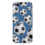 Balones de fútbol del fútbol iPhone 5 protector