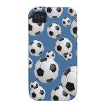 Balones de fútbol del fútbol vibe iPhone 4 carcasa