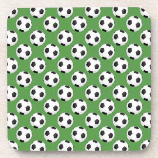 Balones de fútbol posavaso