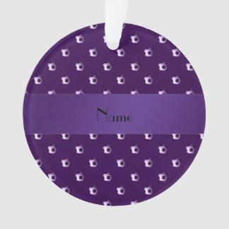 Balones de fútbol púrpuras conocidos