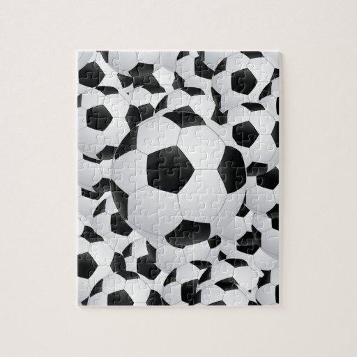 balones de fútbol puzzle con fotos