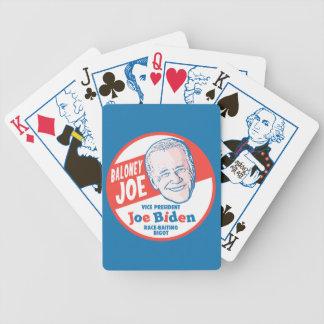Baloney Joe Biden Bicycle Playing Cards