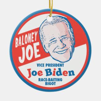 Baloney Joe Biden Ornament