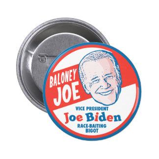 Baloney Joe Biden Pinback Button