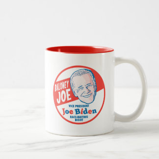 Baloney Joe Biden Two-Tone Coffee Mug
