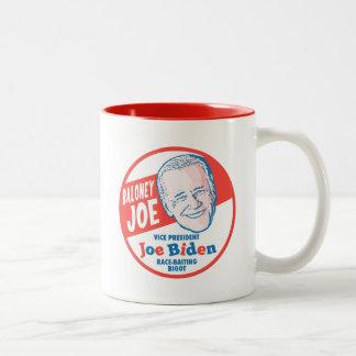 Baloney Joe Biden Two-Tone Coffee Mug