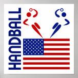 Balonmano Estados Unidos Poster