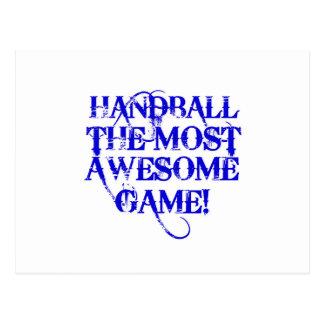 ¡balonmano la mayoría del juego impresionante! postales