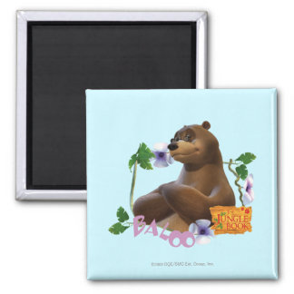 Baloo 2 2 inch square magnet