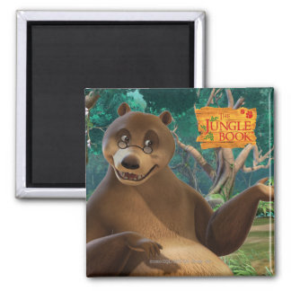 Baloo 4 2 inch square magnet