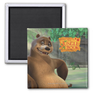 Baloo 5 2 inch square magnet