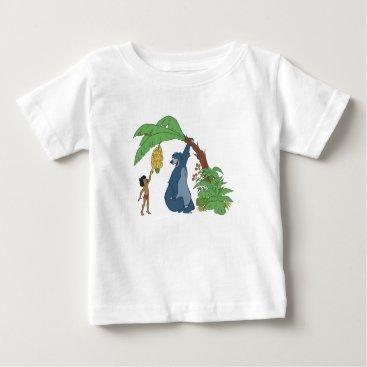 Disney Themed Baloo and Mowgli Disney Baby T-Shirt