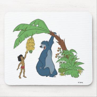 Disney Themed Baloo and Mowgli Disney Mouse Pad