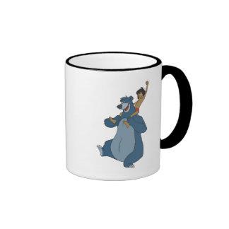 Baloo and Mowgli Disney Ringer Coffee Mug