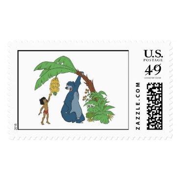 Disney Themed Baloo and Mowgli Disney Postage