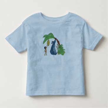 Disney Themed Baloo and Mowgli Disney Toddler T-shirt