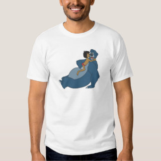 Baloo and Mowgli Playing Disney T Shirt