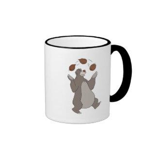 Baloo del libro de la selva que hace juegos malaba taza de café