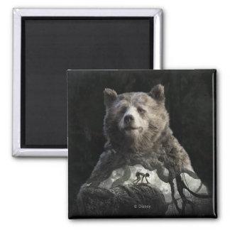 Baloo & Mowgli | The Jungle Book 2 Inch Square Magnet