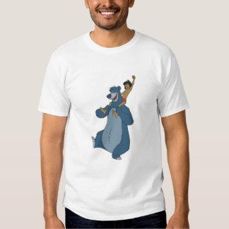 Baloo y Mowgli Disney Remera