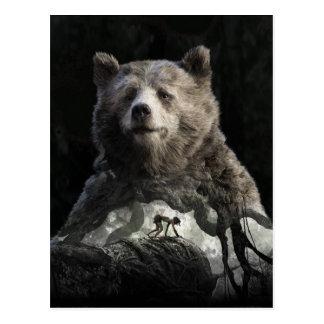 Baloo y Mowgli el   el libro de la selva Postales