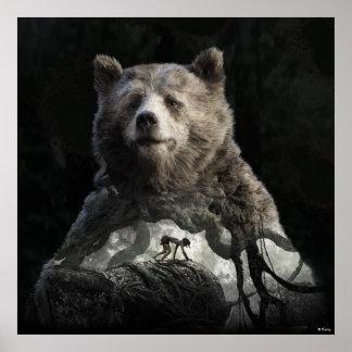 Baloo y Mowgli el | el libro de la selva Póster