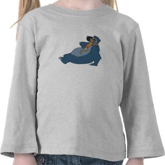 Baloo y Mowgli que juegan Disney Camiseta