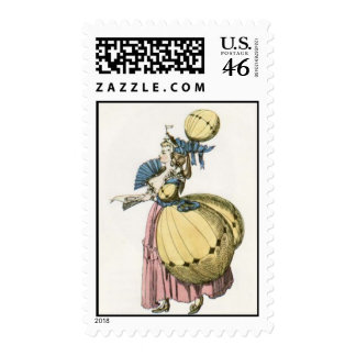 Baloon Babe Stamp Sheet