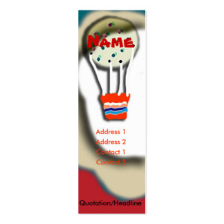 Baloon Mini Business Card
