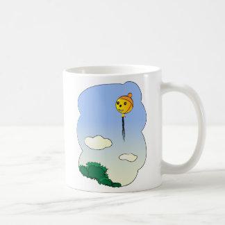 Baloon with hat coffee mug