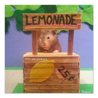 Baloo's Lemonade Stand Card