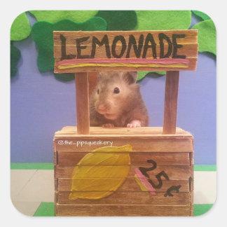 Baloo's Lemonade Stand Square Sticker
