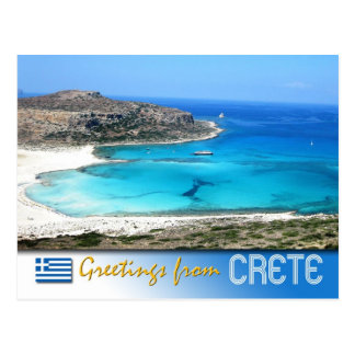 Balos Lagoon Beach, Crete, Greece Postcards