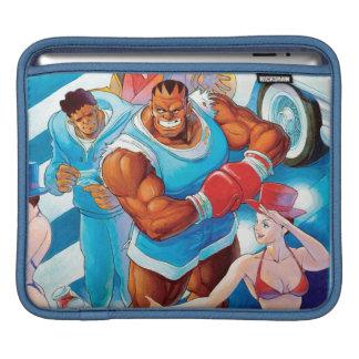 Balrog antes de la lucha de la calle manga de iPad