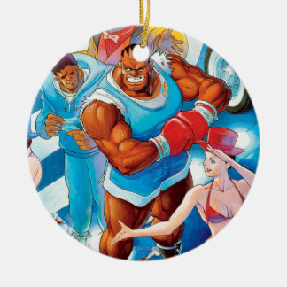 Balrog Before Street Fight Ceramic Ornament