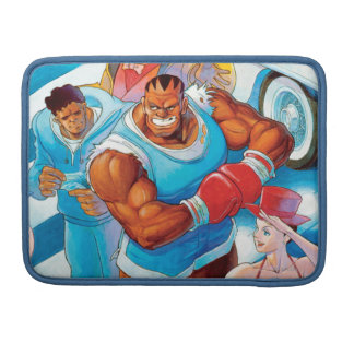 Balrog Before Street Fight Sleeves For MacBook Pro