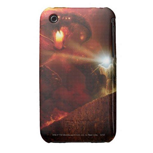 Balrog contra Gandalf Case-Mate iPhone 3 Cárcasas