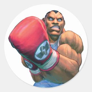 Balrog Grin Classic Round Sticker