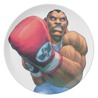 Balrog Grin Party Plate