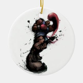 Balrog Punch Ceramic Ornament
