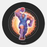 Balrog Round Sticker