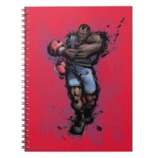 Balrog Tying on Glove Notebook