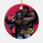 Balrog Tying on Glove Ornaments
