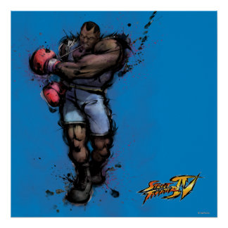Balrog Tying on Glove Posters