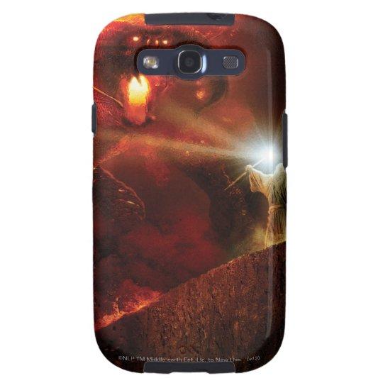 Balrog Versus Gandalf Galaxy S3 Cover
