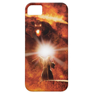 Balrog Versus Gandalf iPhone 5 Cover