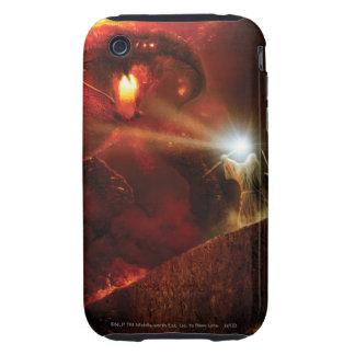 Balrog Versus Gandalf Tough iPhone 3 Cover